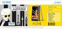 Acquista Alcatel POP 4 Plus e vinci un viaggio in Europa