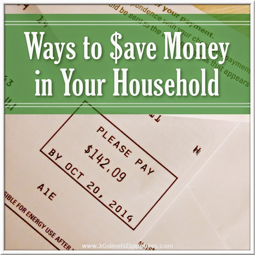 Ways to save money in your household that you may have never considered before  |  www.3Garnets2Sapphires.com #SunrunHome #CG