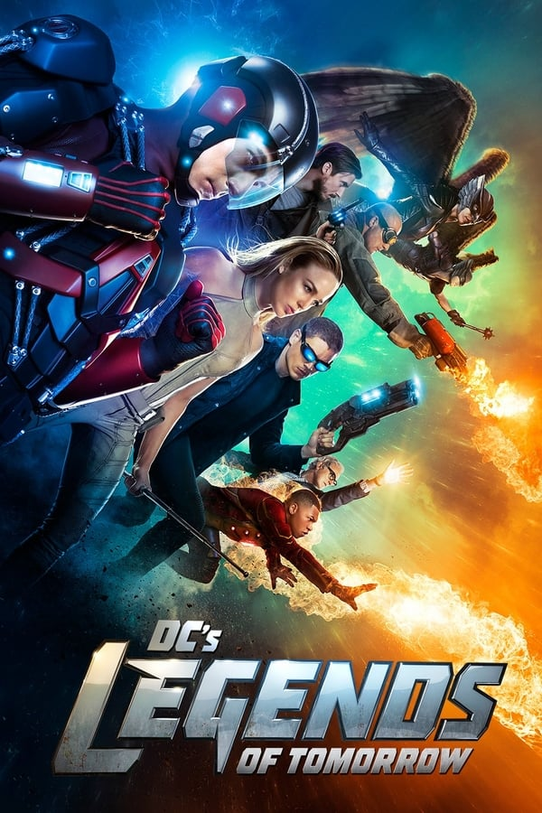 Descargar Legends of Tomorrow Latino HD Serie Completa por MEGA