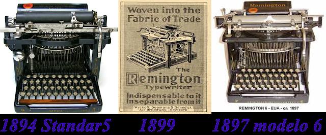 Tecteclas marcas neste perodo a the remington typewriter levou adiante a marca remington como nova proprietria desta marca atravs das mquinas de escrever das quais fandeluxe Images