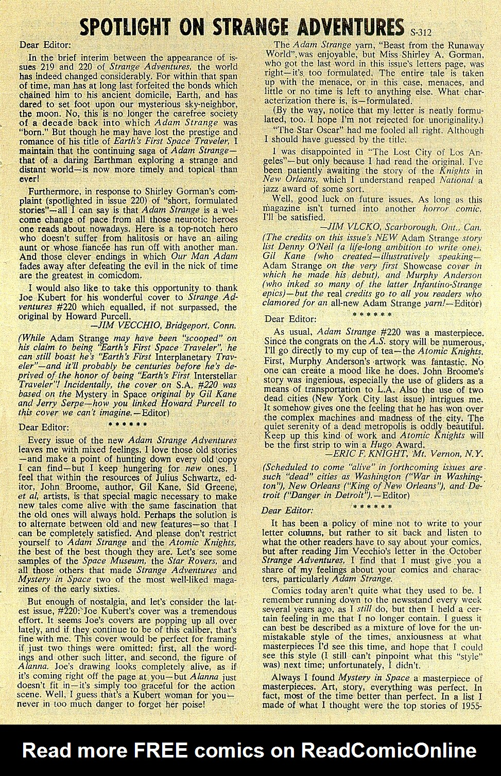 Strange Adventures (1950) issue 222 - Page 33