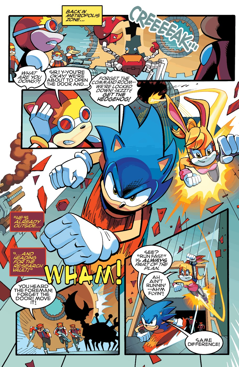Read online Sonic The Hedgehog comic -  Issue #255 - 14