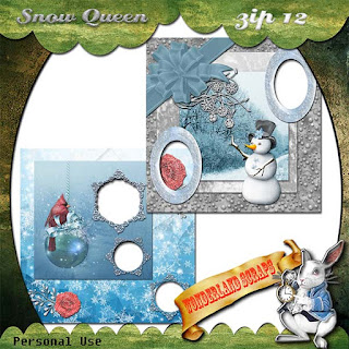 Zip 12 Snow Queen freebie