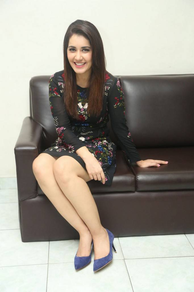 Raashi Khanna At Jai Lava Kusa Movie Interview Stills