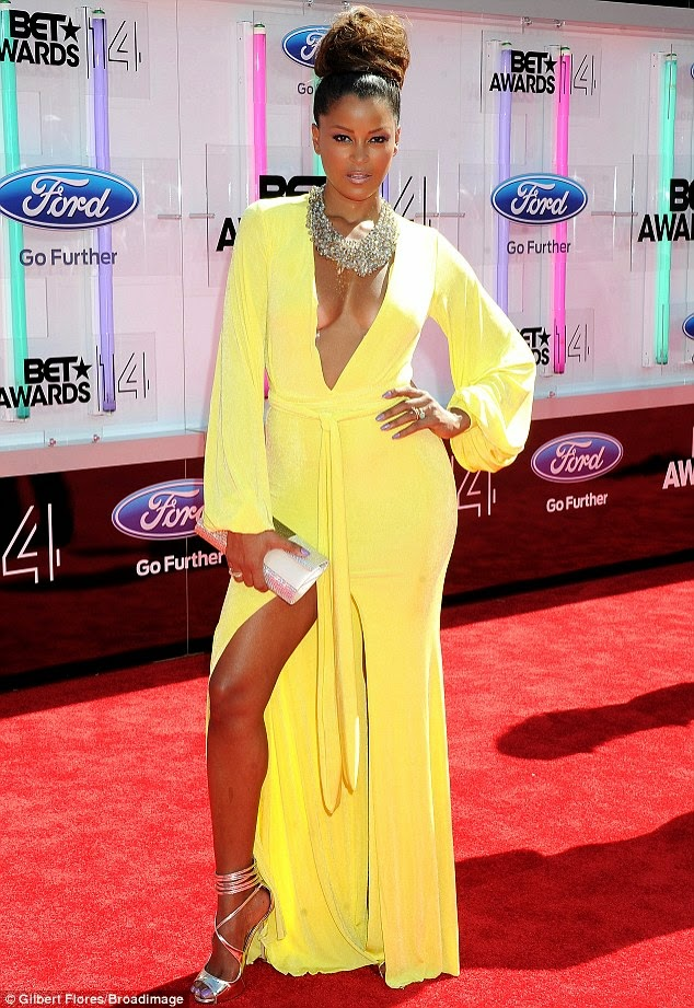 article 2674348 1F40D81700000578 116 634x921 Red Carpet photos from 2014 BET Awards + Full List of Winners