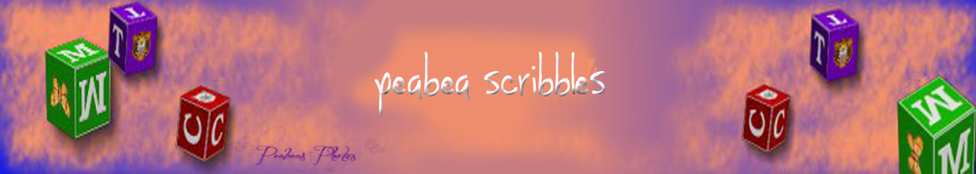 Peabea's Scribble Pad