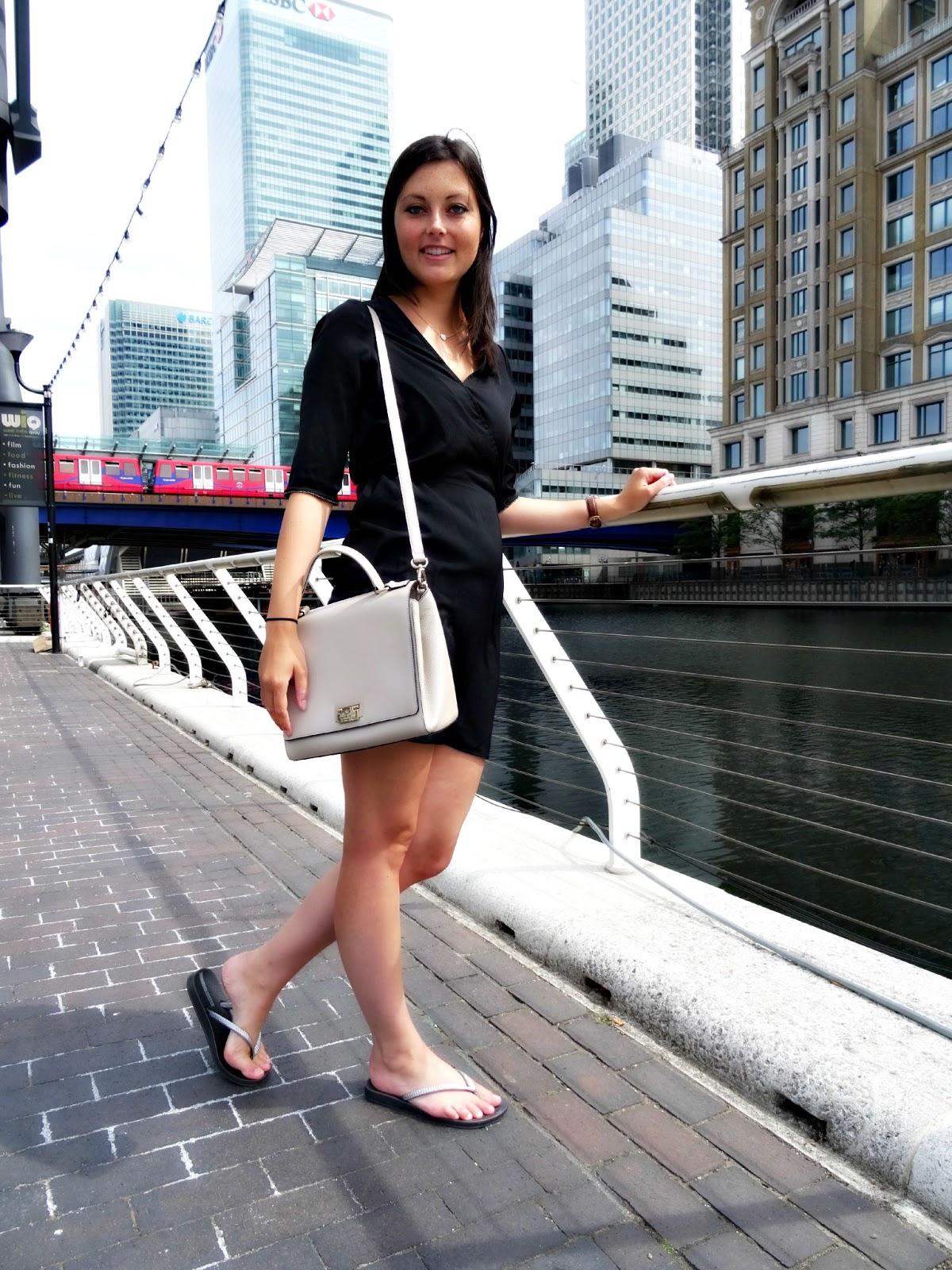 La Redou black dress fashion ootd