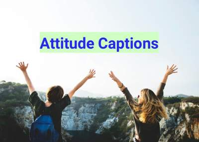 Attitude Captions for Instagram
