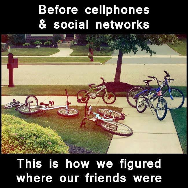 25 Pictures That Prove Technology Is Ruining Society - Before the outbreak: