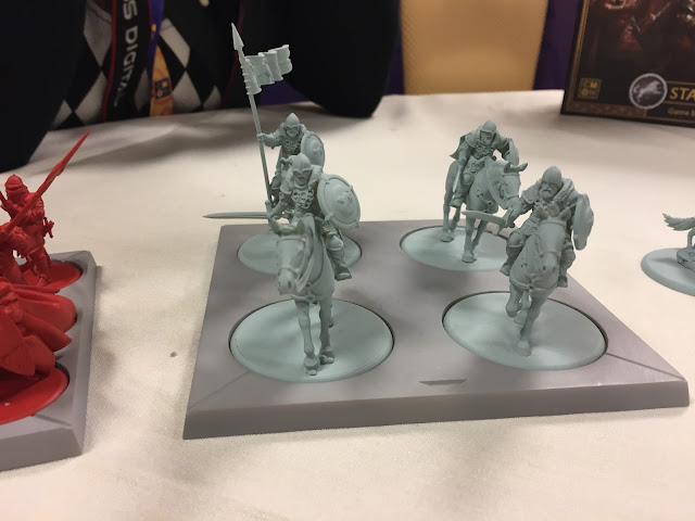 Cool Mini or Not: A Song of Fire and Ice Miniatures Stark Game of Thrones