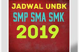 Kemdikbud: Jadwal Lengkap UNBK Utama 2019 SMP SMA SMK