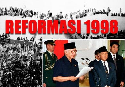 Rangkuman Lengkap Peristiwa Reformasi 1998 | Freedomsiana