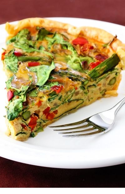 Dairy-Free Vegetable Quiche