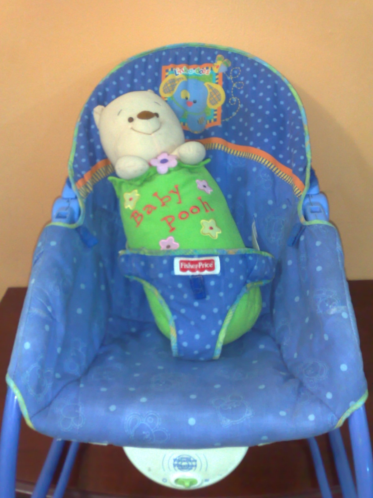 Calming Vibrations Baby Chair Steel With Pad Pu3 Store Sold Item Fisher Price Link A Doos Infant
