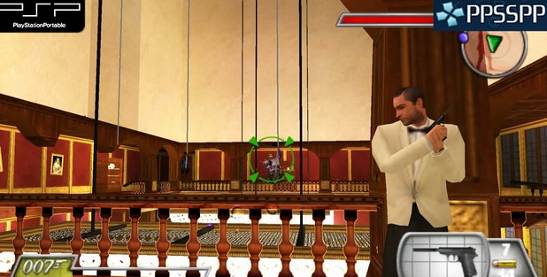 Download James Bond 007 : From Russia With Love PSP PPSSPP