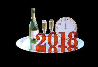 Happy New Year 2018  שנה_טובה  سنةجديدةسعيدة  BonneAnnée  feliceAnnoNuovo
