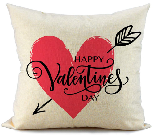 Happy Valentine's Day Pillow