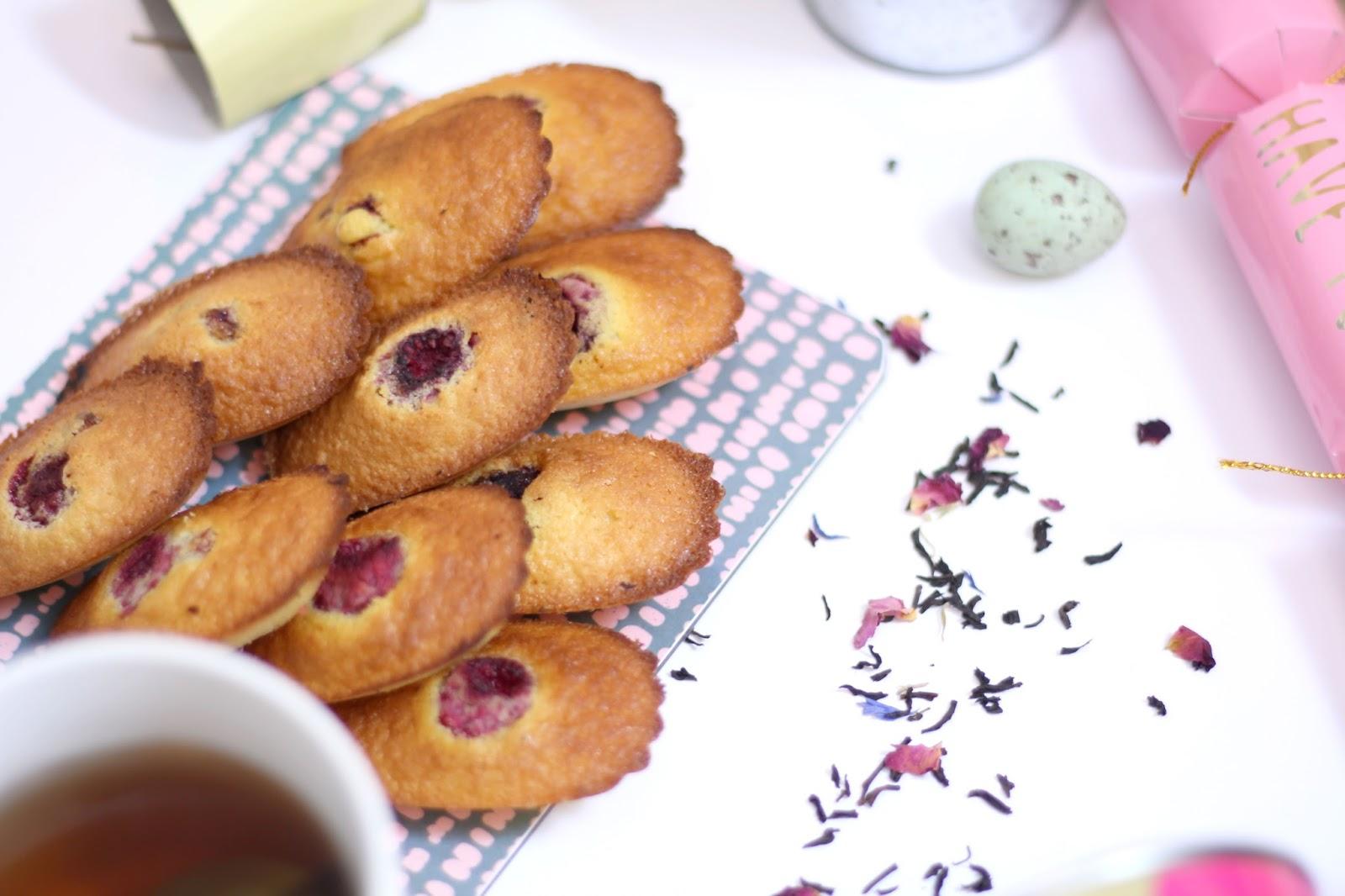Madeleines sans gluten sans lactose