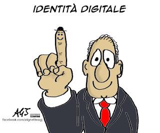 spid, identità digitale, pubblica amministrazione, vignetta satira