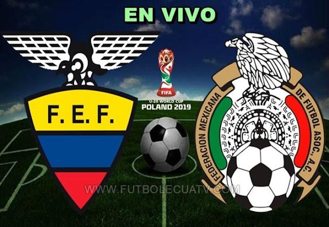 Ecuador y México sostienen un duelo en vivo 📺 desde las 11:00 horario de nuestro país a efectuarse en el Estadio Municipal de Gdynia por la fecha tres Grupo B del Mundial Sub-20 Polonia 2019, siendo el árbitro principal Ivan Kruziliak con emisión de los canales oficiales DirecTV Sports y Canal Uno.