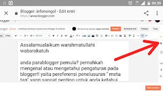 Cara menambahkan label di blogger