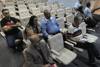 Publico acompanhando a Audiência Pública do Orçamento estadual de SP 2017  em Barretos 24/06/2016