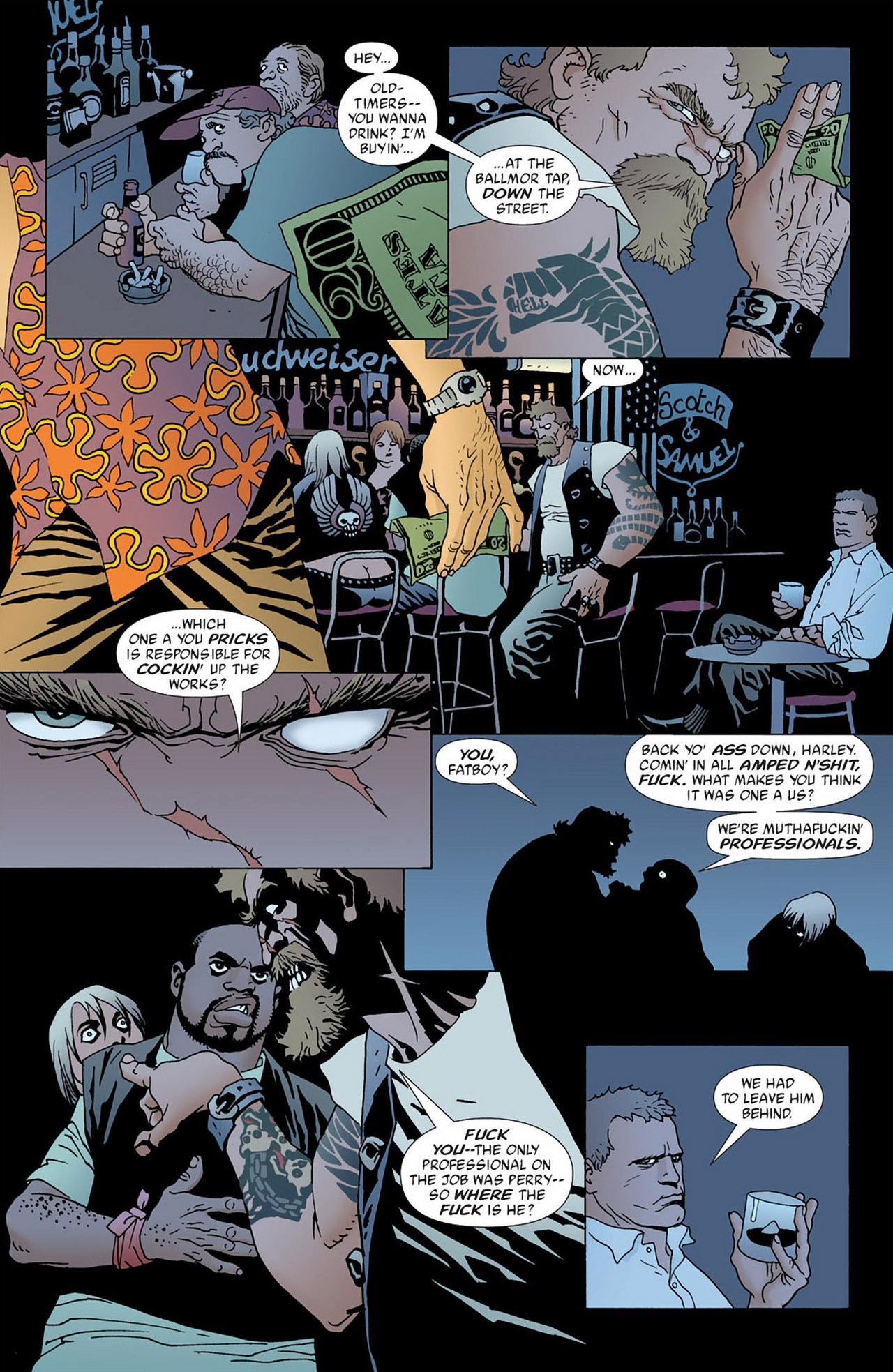 Read online 100 Bullets comic -  Issue #50 - 11