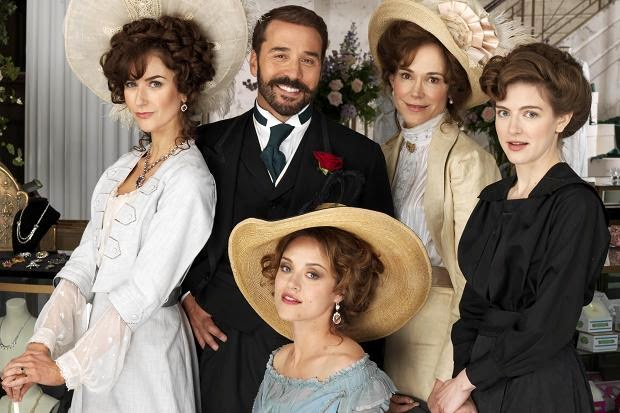 'MR. SELFRIDGE,' SERIES ONE (2013). Jeremy Pivan stars in the BBC period drama about a man who owns a prestigious England department store. All text © Rissi JC