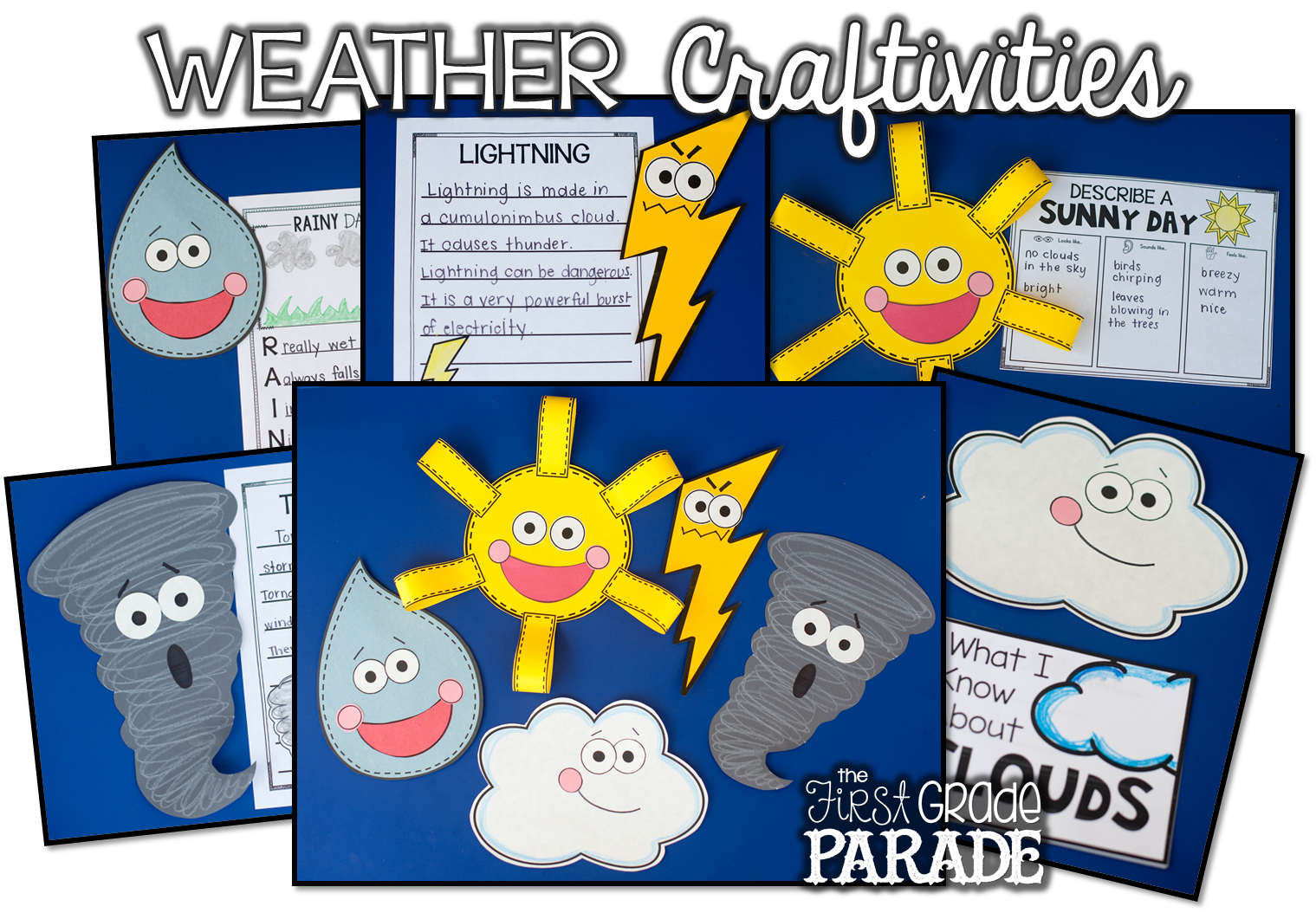 all about the weather activities ideas freebies the first grade parade. Black Bedroom Furniture Sets. Home Design Ideas