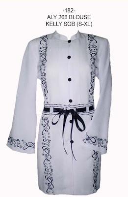 Model Baju Muslim Modern Bordir Terbaru