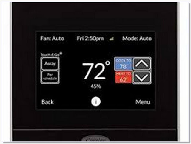 Carrier thermostat that works with alexa