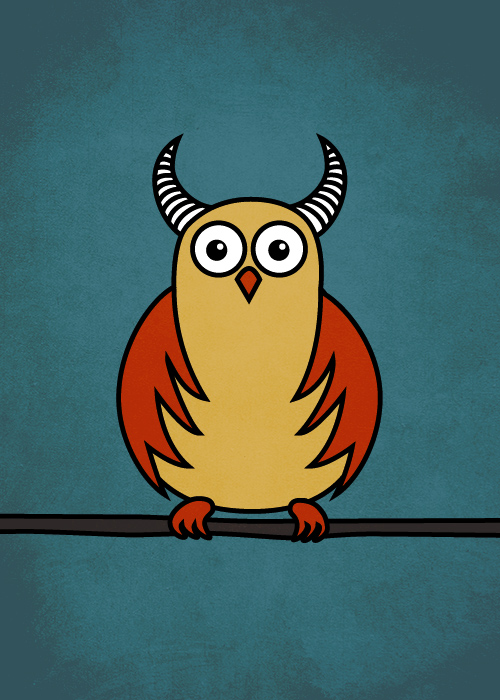 funny cartoon owls - photo #8