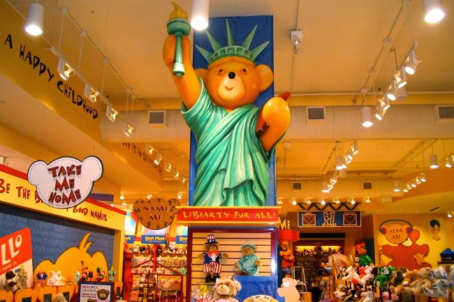 Loja Build a Bear Workshop em Nova York