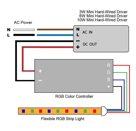9v rgb led wiring diagram 12v led wiring diagram for rgb vlightdeco trading (led): wiring diagrams for 12v led lighting #14