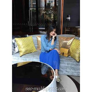 Foto Natasha Dewanti pemain Anugerah Cinta