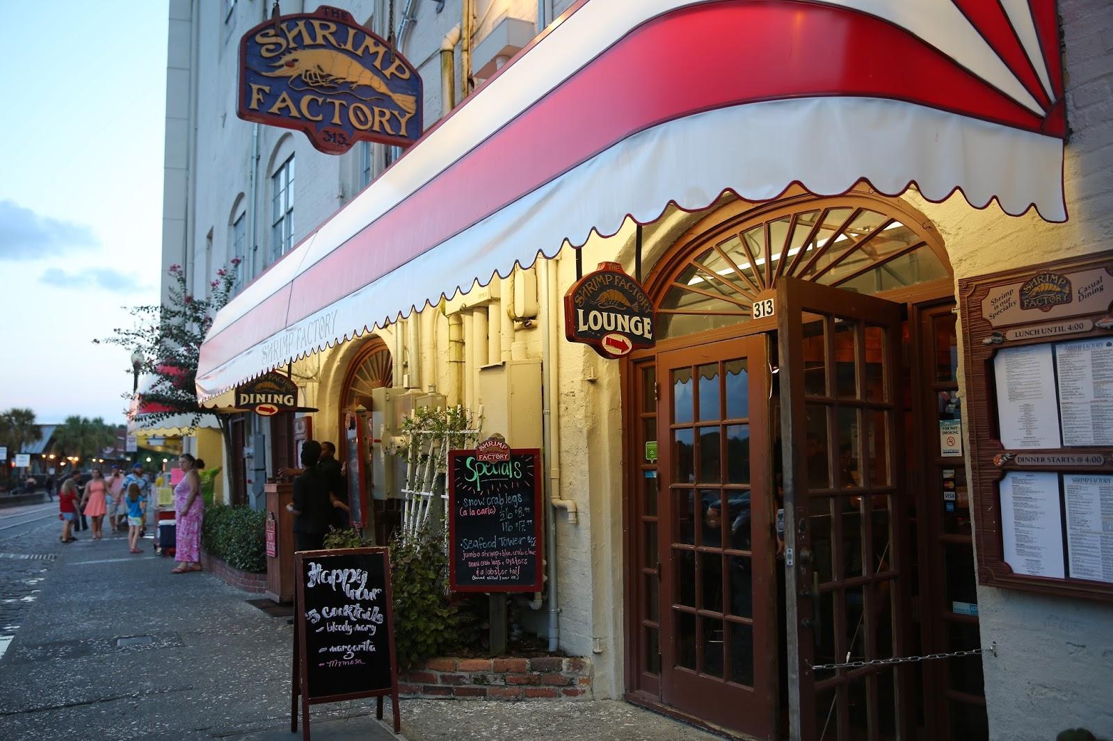 Restaurants On River Street, Savannah, GA