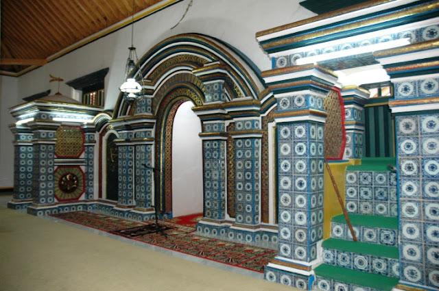 Mihrab Masjid Agung (Jami') Sumenep
