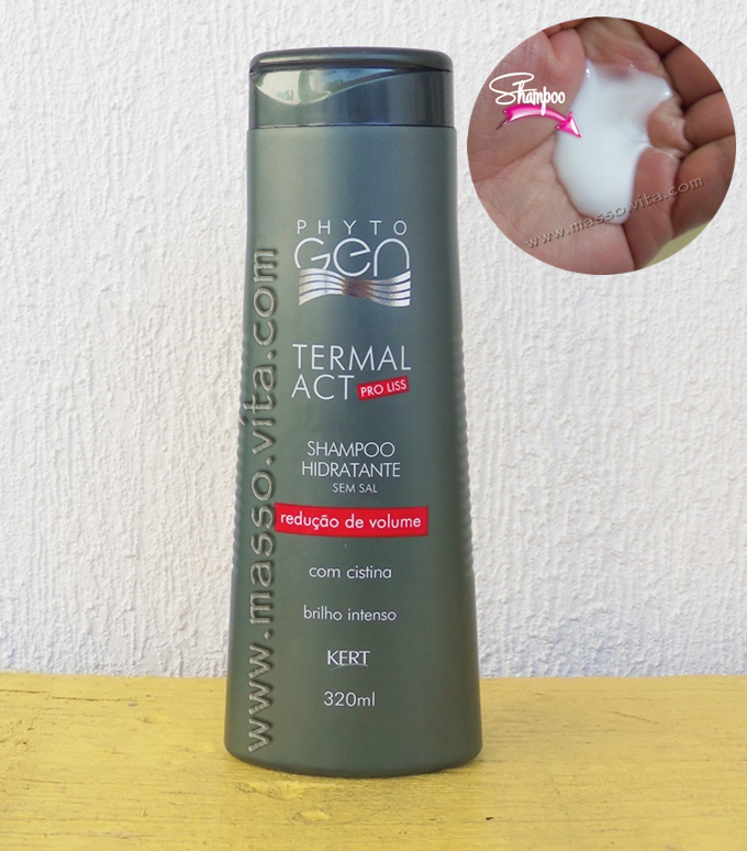 Shampoo  Hidratante  Termal ACT pro liss
