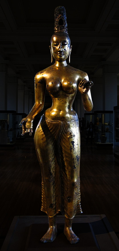 British Museam Goddess Tara, enhancedimage...