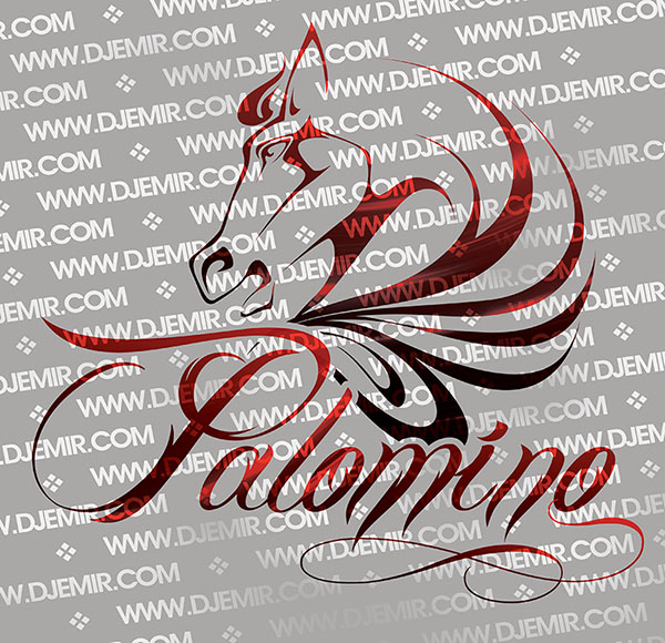 Palomino Nightclub Logo Design