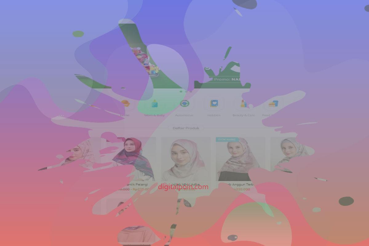 Template Toko Online Blogger Terbaik 2019 SEO Friendly