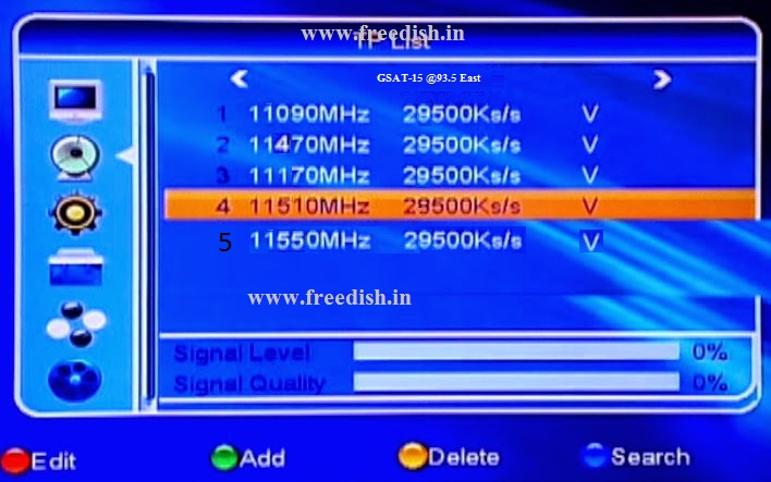 How do receive other FTA (Free to Air) channels via DD Free Dish DTH