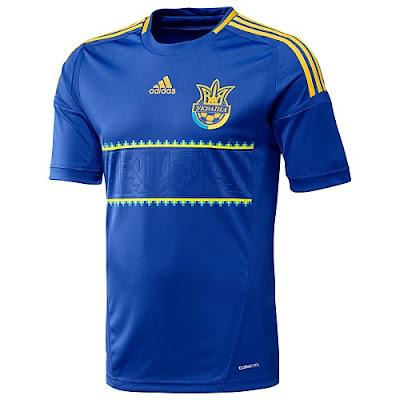 mitología Automáticamente Collar  canalfútbol Blog: Camiseta Suplente Adidas de Ucrania para la Euro 2012