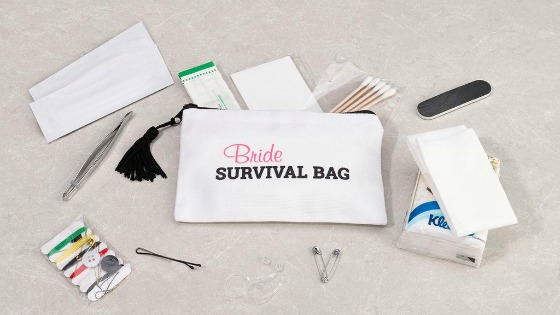 fd3582ae9b7a Be Prepared! What To Pack In Your Wedding Day Emergency Kit