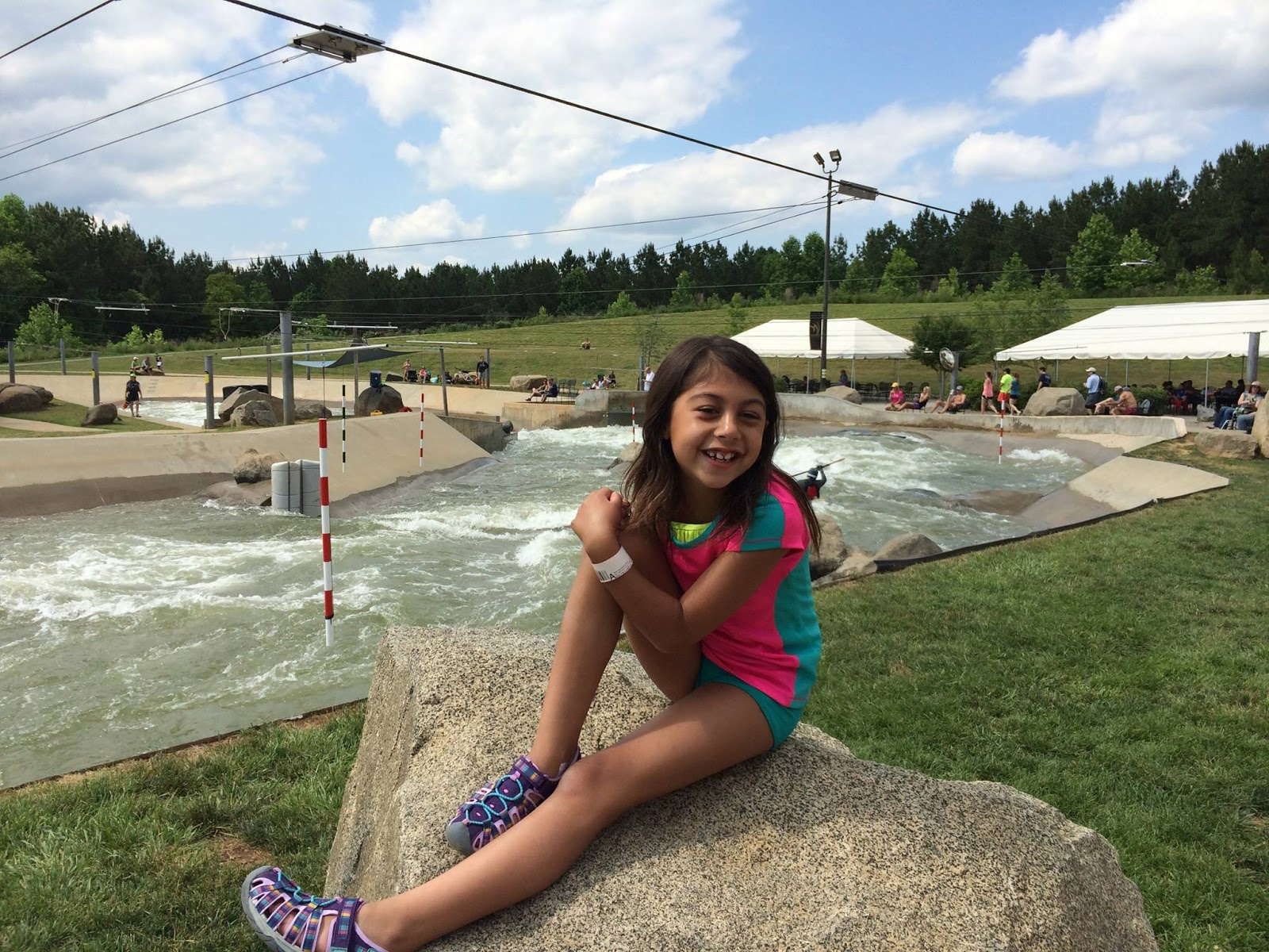 Vintage, Paint and more... National Whitewater Center in North Carolina
