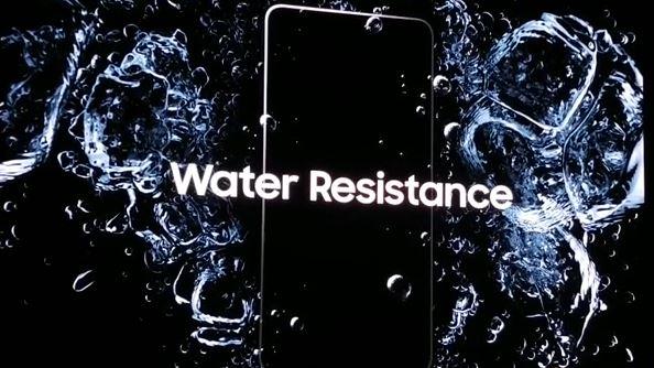 Resistente ad acqua e polvere samsung galaxy note 7