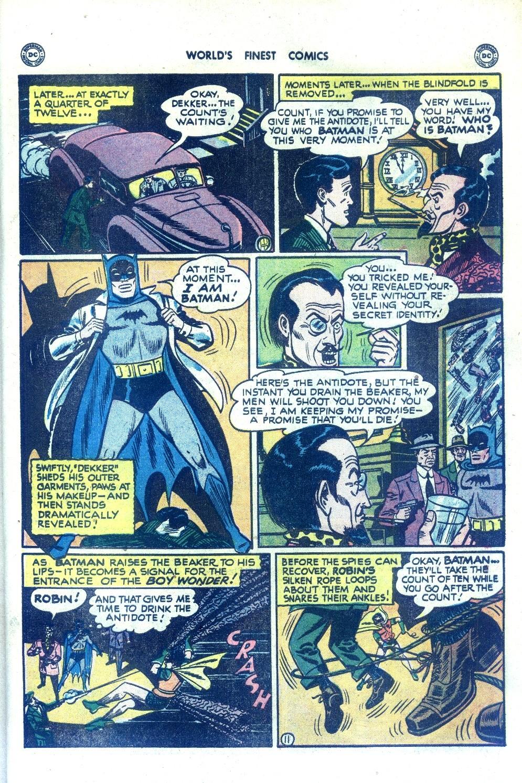 Read online World's Finest Comics comic -  Issue #43 - 71