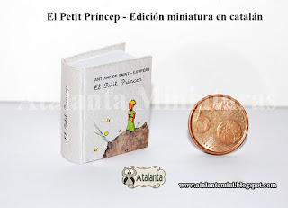El Principito libro miniatura - minibook Petit Prince - Petit Prince minilivre