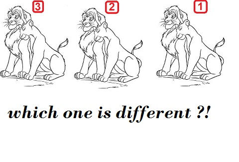 Picture Brain Teaser (Which Picture is different???)