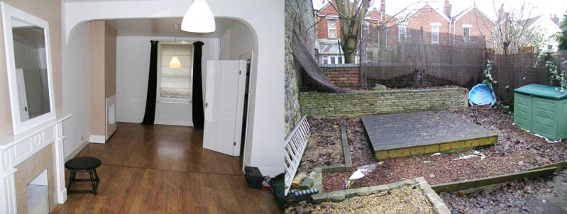 before and after renovations uk home